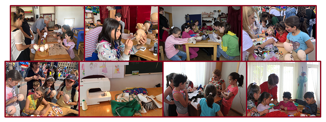 Puppetry creation