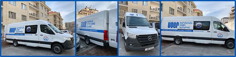 Outside Mobile Eye Care Van