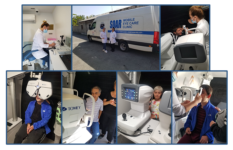 Mobile Eye Care Project inaugural run!