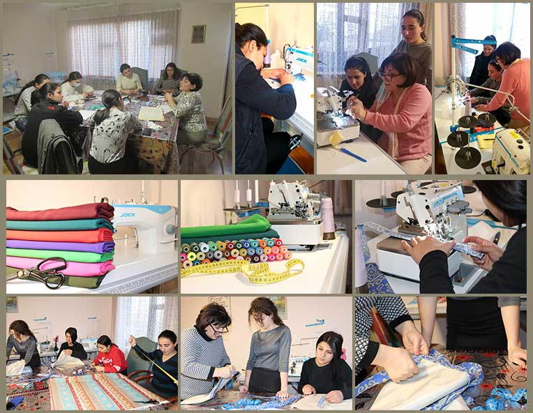 Sewing classes at SOAR Transitional Center