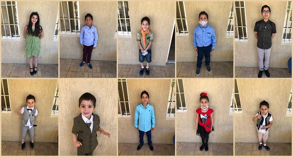 Birds' Nest Orphanage, Lebanon Easter celebration. New outfits!