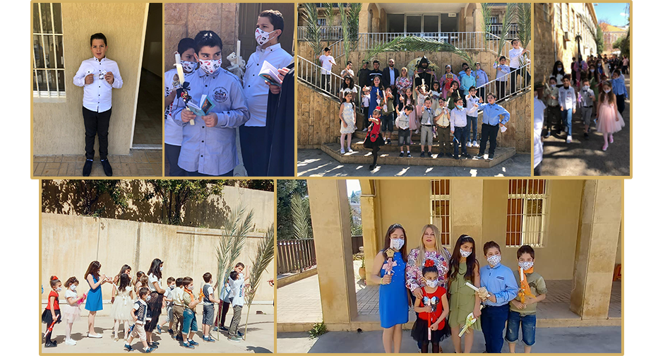 Birds' Nest Orphanage, Lebanon Easter celebration.