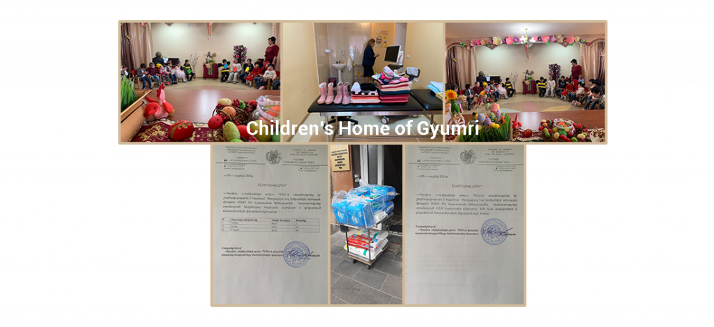Children's Home of Gyumri Easter Celebration