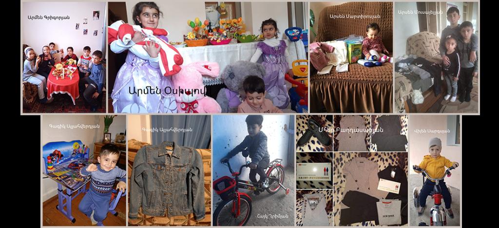 Families of Fallen Soldiers Artsakh Region Easter Celebrations