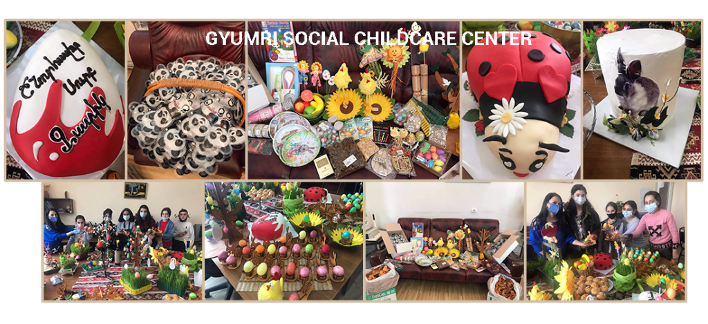 Gyumri Social Childcare Center Easter