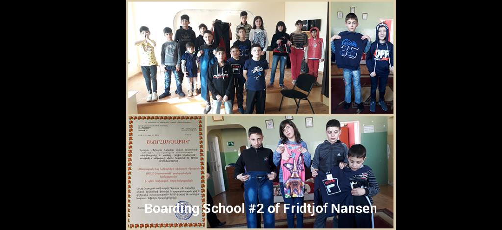 Boarding School #2 of Fridtjof Nansen Easter Celebration