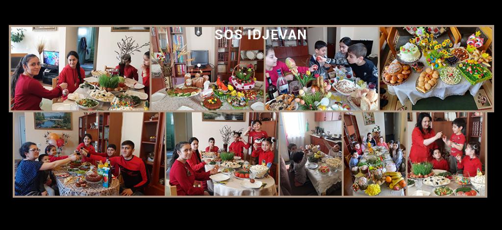 SOS Idjevan Easter Celebration!