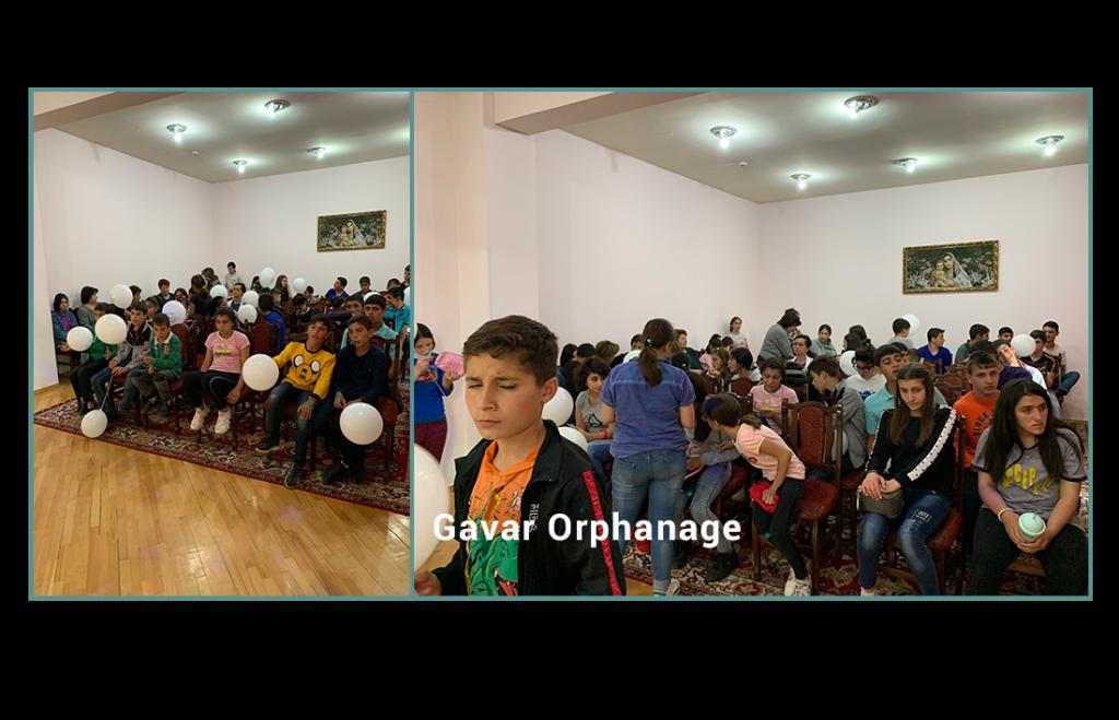 June 1st celebration at Gavar Orphanage