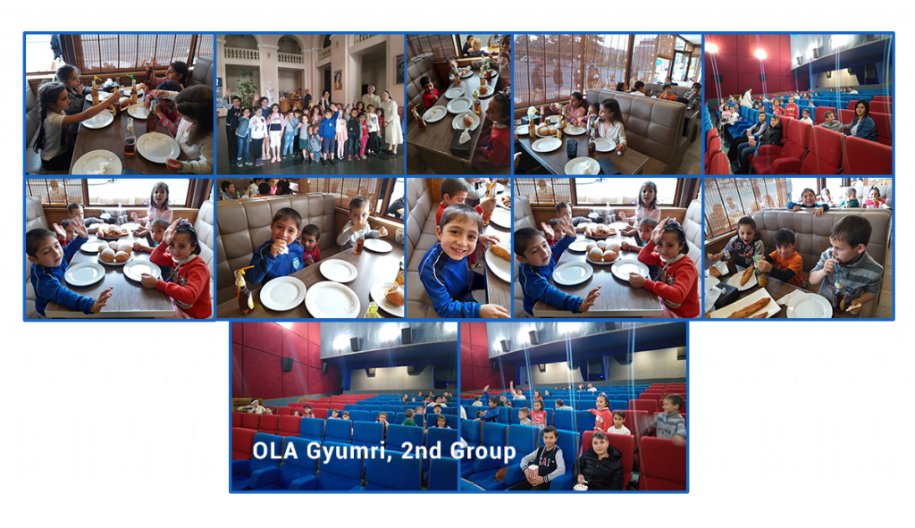 June 1st celebration for the 2nd group at OLA Gyumri