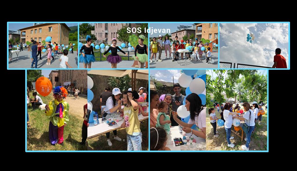 June 1st celebration at SOS Idjevan