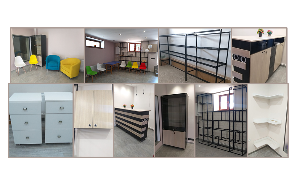 Furniture for the newly renovated Transitional Center basement