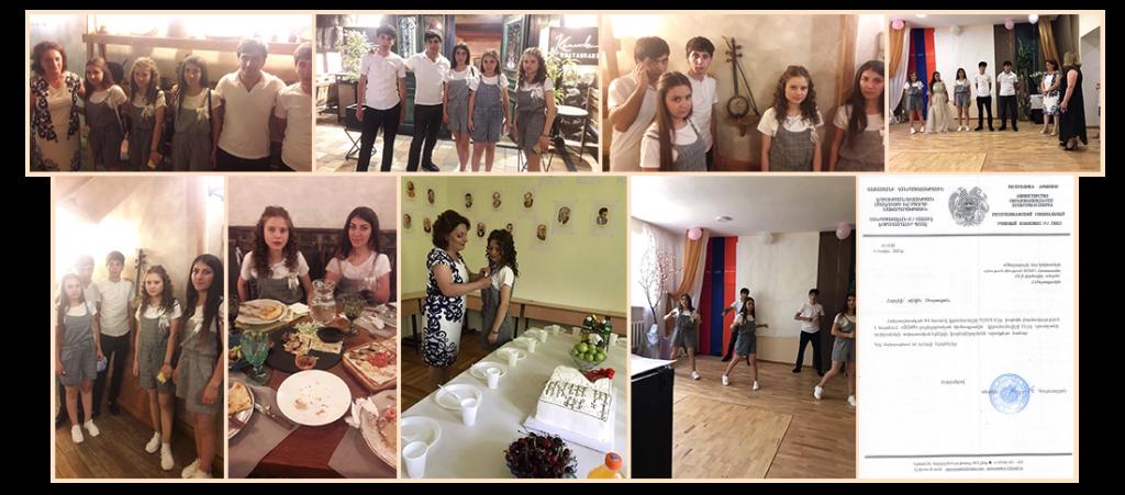 Vardashen Last Bell Celebration