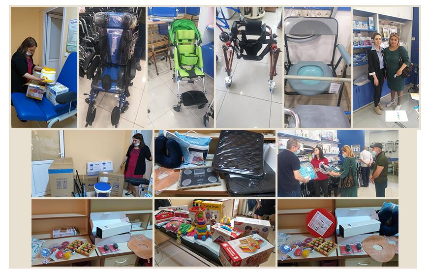 Equipment for Children's Home Gyumri
