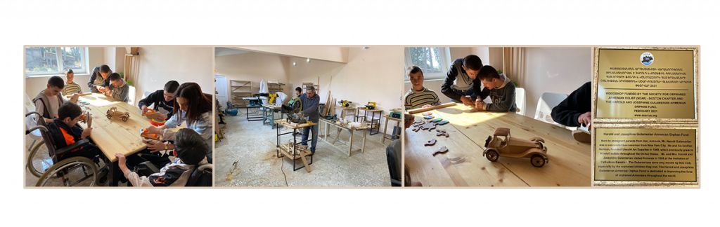 The new Kharberd workshop in use