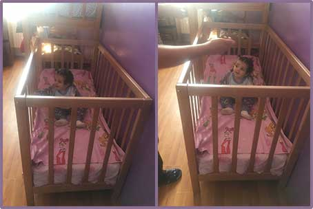 New Cradle for Angelina Sargsyan at Shirak Marz Child and Family Support Center