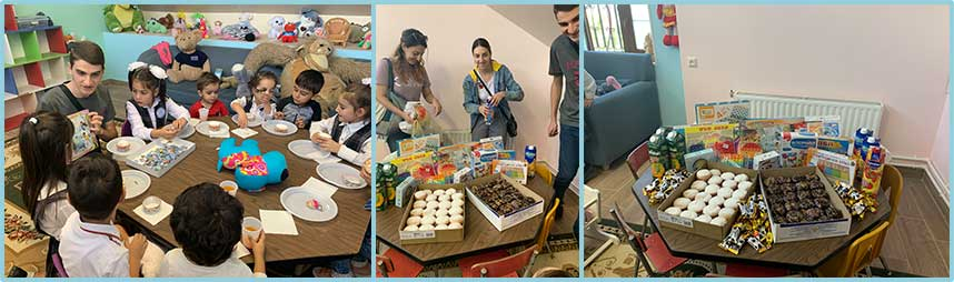 Our Lady of Armenia Party with gifts for the children