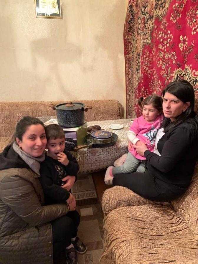 Family of Arthur Karapetyan