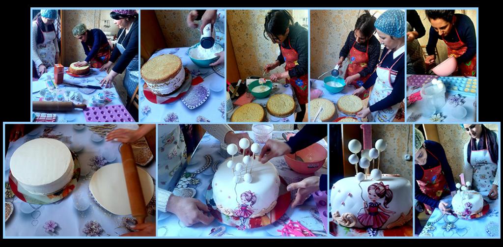 Baking classes for wife of fallen soldier Sergey Derdzyan
