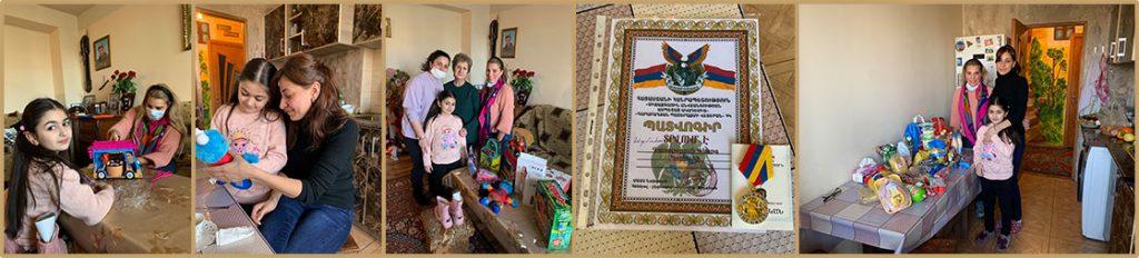 Family of Fallen Soldier Gevorg Gasparyan