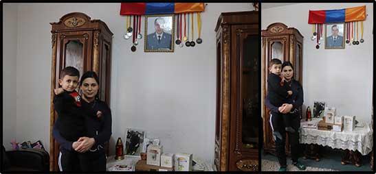 Family of Gor Ajamyan
