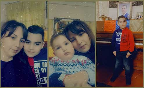 Family of Fallen Armenian Soldier Martun Mkrtchyan