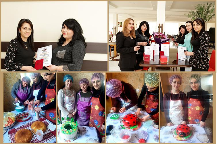 Baking course graduation!