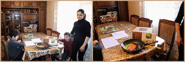Family of Vanichka Sargsyan