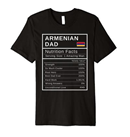 Armenian Dad Nutrition Facts T-Shirt