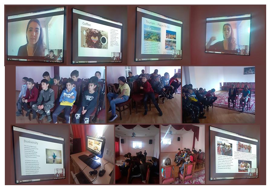 SOAR Bogota presentation to Gavar Orphanage