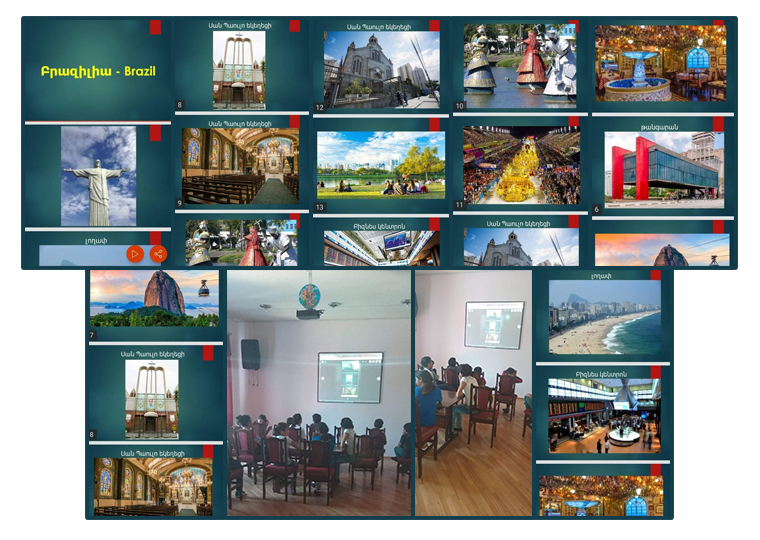 Presentation to Gavar Orphanage by SOAR Brazil