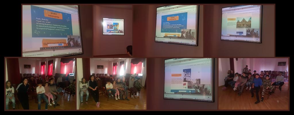 Bucharest CDP presentation to children at Gavar Orphanage