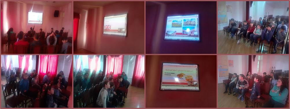SOAR Leeds CDP presentation to children at Gavar