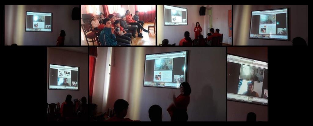 Portland (ME) CDP presentation to the children at Gavar Orphanage