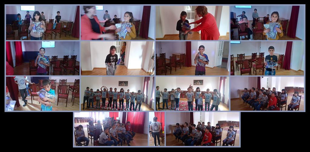 SOAR San Diego presentation to the children at Gavar Orphanage