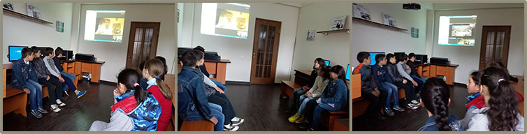SOAR Rome chapter gave a presentation to the children at Orran