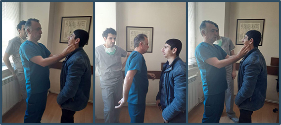 Mushegh doctor visit 2nd surgery