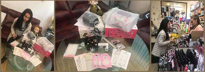Armine Kafeschyan manicure supplies