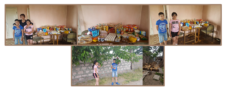 Services to Children in their Own Homes, Grigoryan family