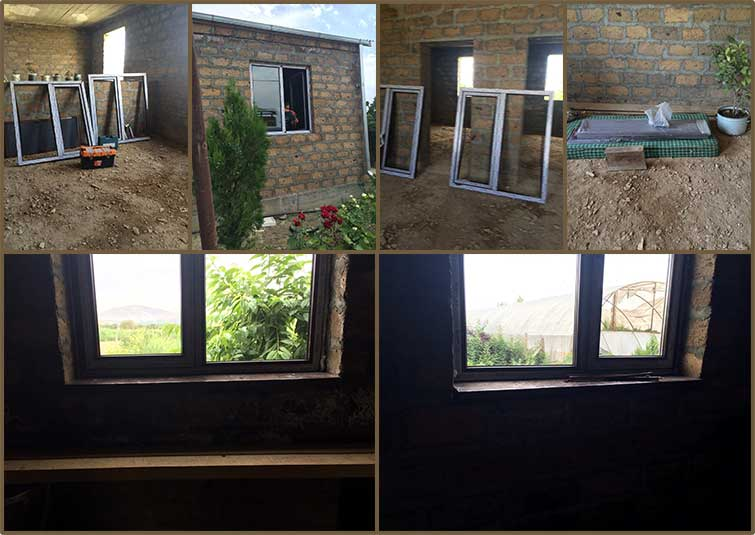 Hovhannisyan family new windows and front door for their new home