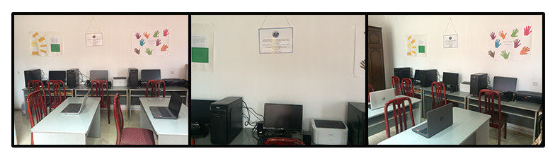 A new computer lab for Community Development and Social Suport Center funded by SOAR New York