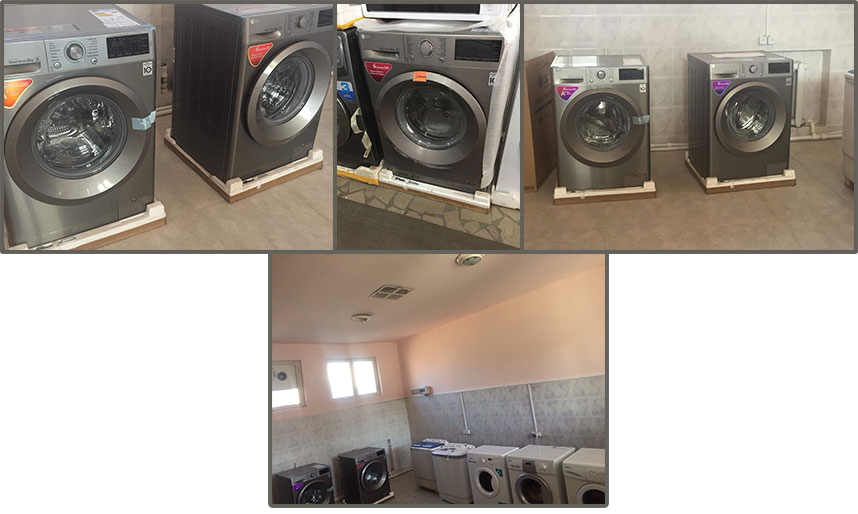 Two new washer/dryer combos for Gavar funded by SOAR National
