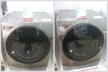 New washing machines for Our Lady of Armenia funded by SOAR Wisconsin