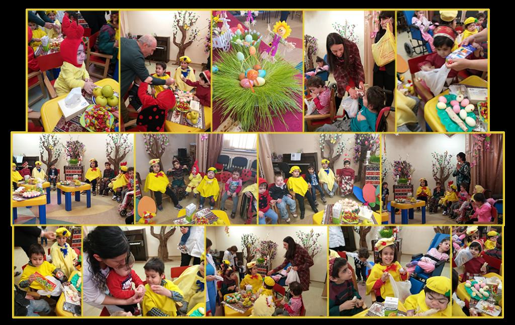 Children's Home Gyumri Easter