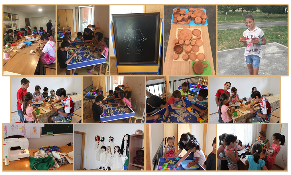 Art therapy at SOS Village Kotayk