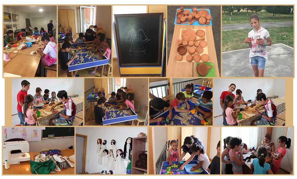 Art therapy at SOS Village Kotayk