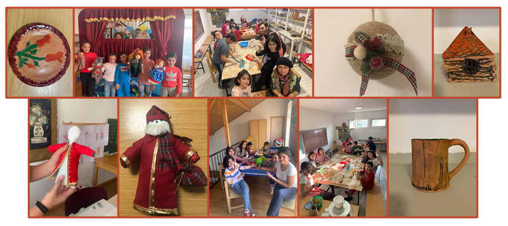 December 2019 Art therapy at SOS Kotayk