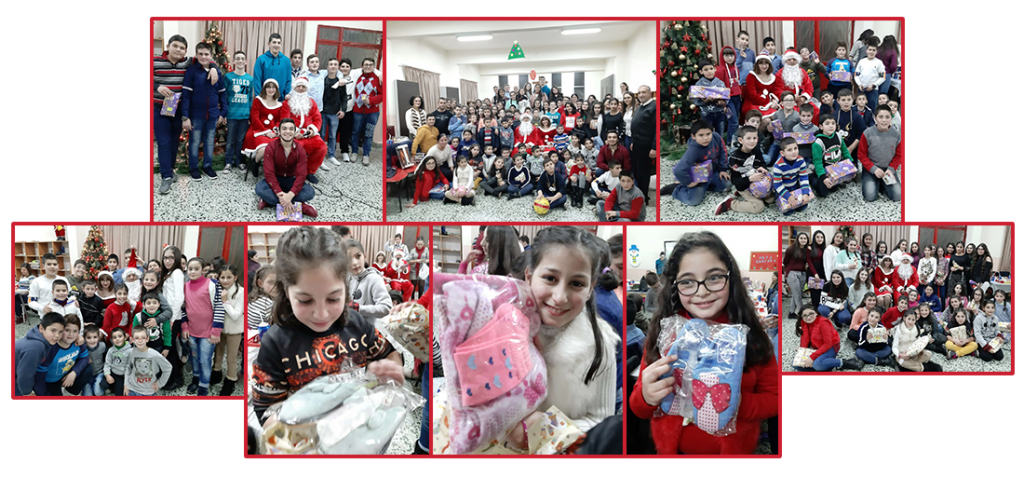 AEBS Christmas celebration