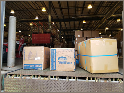 A shipment on its way with items from Project Cure and school supplies collected by SOAR Dallas
