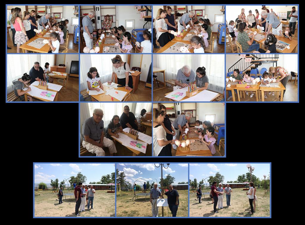 SOS Kotayk playground and Art Therapy