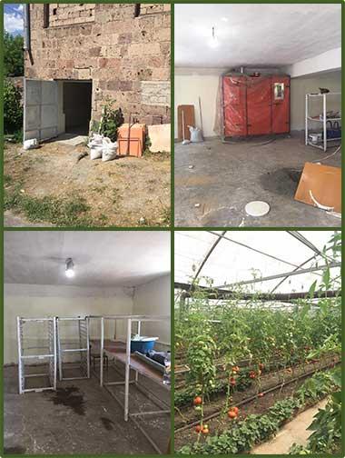 Continued work for Dzorak dehydration space